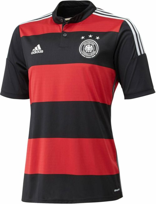 Germany 2014 World Cup Away Kit (1)