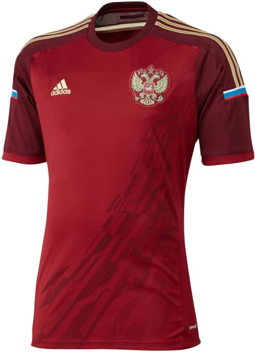 Russia 2014 Home Kit 1