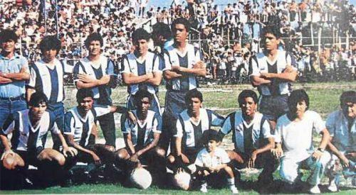 FOTO ALIANZA LIMA 1987 ANTES DE LA CAIDA DEL FOKKER