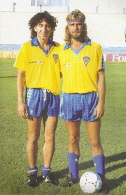 Jorge -Magico- Gonzalez et Juan JOSE