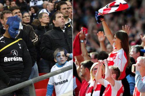 Tottenham-dejected-Arsenal-celebrate