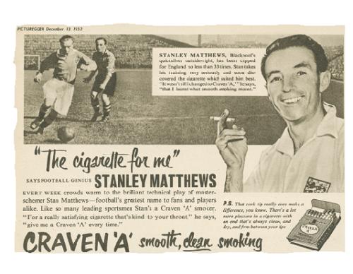 stanleymatthews-cravenacigarettead
